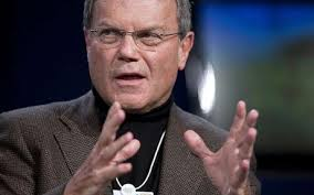 This is not Harry Enfield. This is Sir Martin Sorrell.
